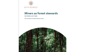 White paper: How miners can be forest stewards