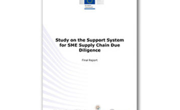 Report: Study on the Support System for SME Supply Chain Due Diligence