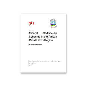Mineral Certification Schemes in the Great Lakes Region